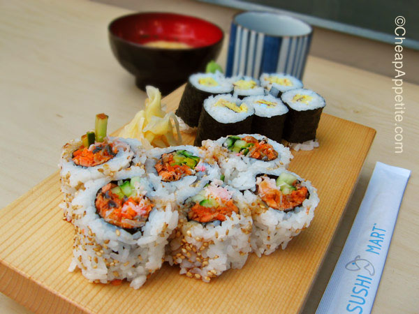 sushimart BC roll & Tamago roll (2nd visit)
