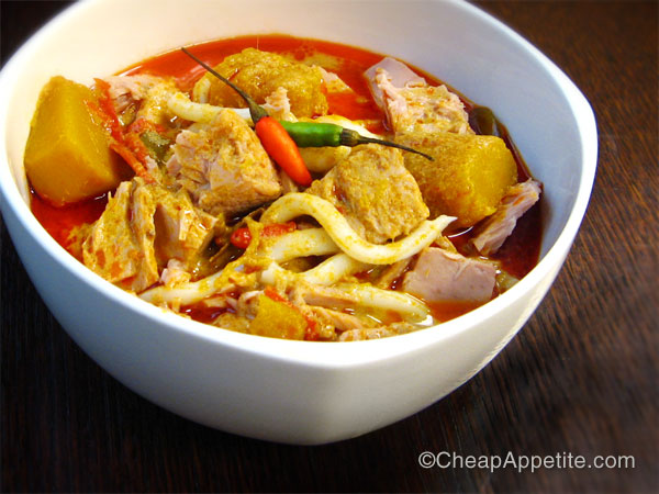 Red Curry Tuna with Udon Noodles