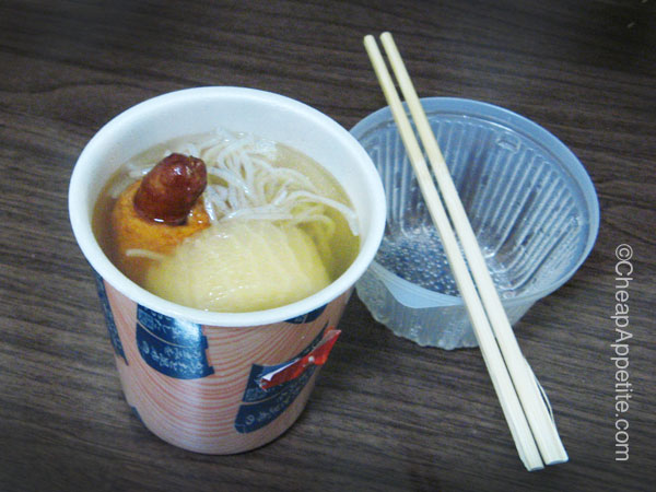 7-11 Oden in Cup