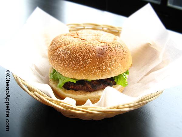 Gastown Vera's Burger Shack: The Vera Burger