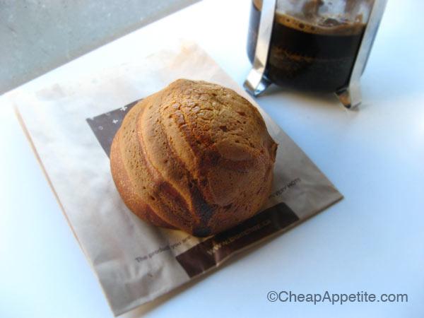 Bon Chaz French Truffle Bun freshly baked