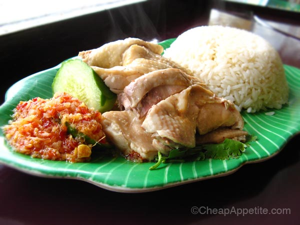Hainanese Chicken Rice at Hawker's Delight
