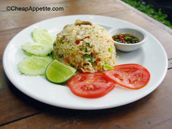 Thai Pork Fried Rice at Khao Jao