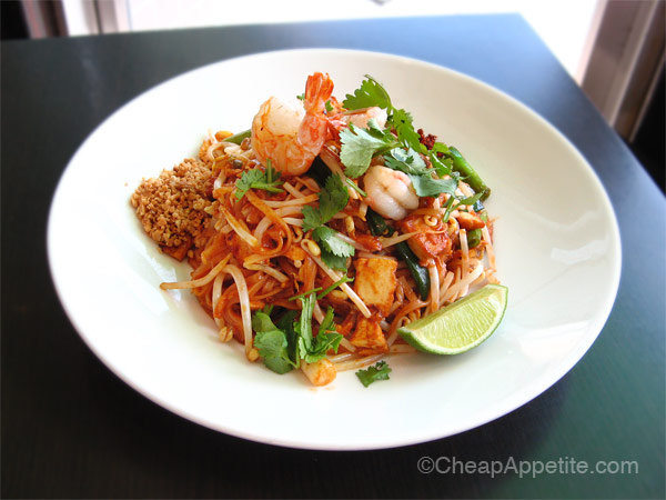 Thai Basil's Canadian-style Pad Thai