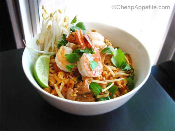 Thai Basil's Thai-Style Pad Thai