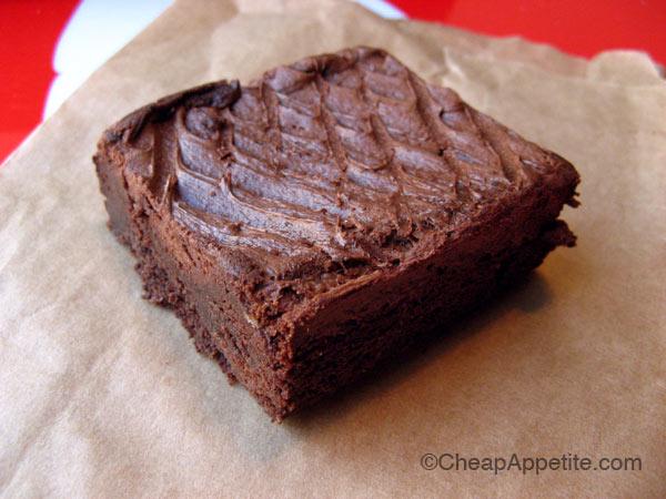 Deep Dutch Brownie at Bean Around the World