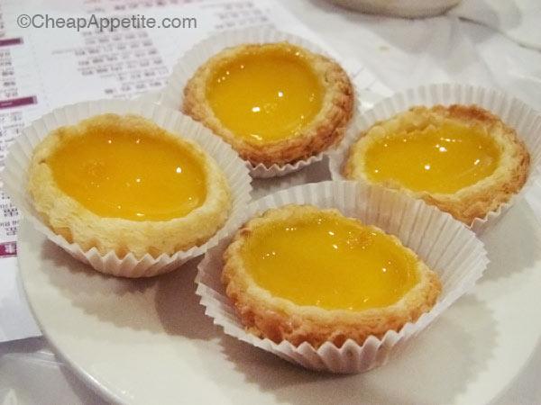 Kam Wai Dim Sum Egg Tarts
