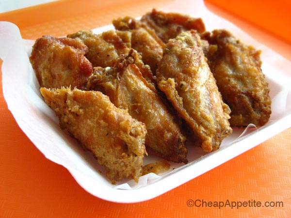 Aberdeen Centre Wo Fung Deep Fried Chicken wings with pepper