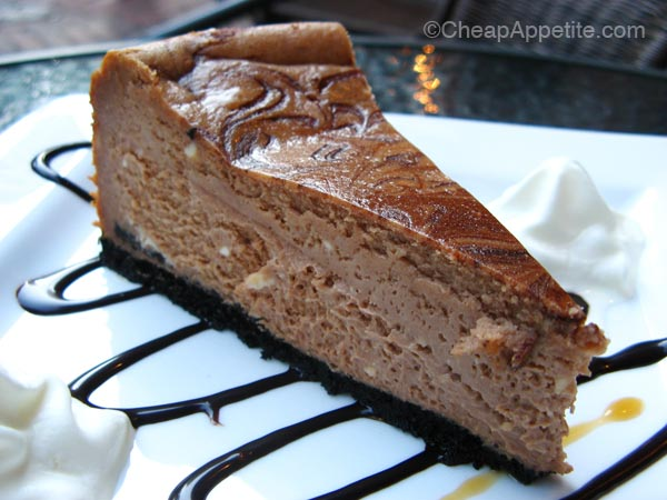 Chocolate Swirl Cheese Cake at Trees Organic