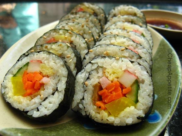 Kimbob E Ramyun's Kimbob (Gimbap,Kimbap, or Kimbop)