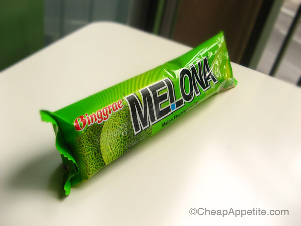 Binggrae Melona Melon Flavoured Creamsicle in Wrap