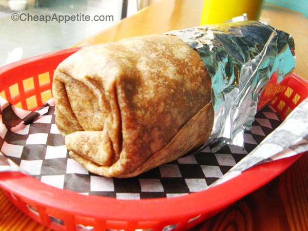 All Budgie's Burritos comes in Foil Wrap