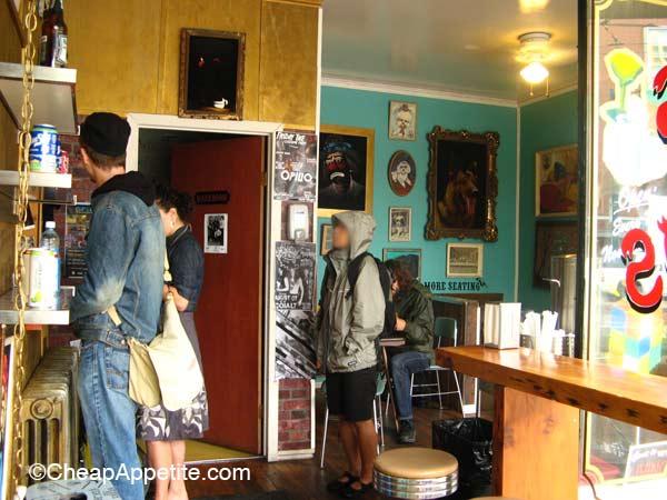 Funky/Bohemian Interior Decor at Budgies Burritos