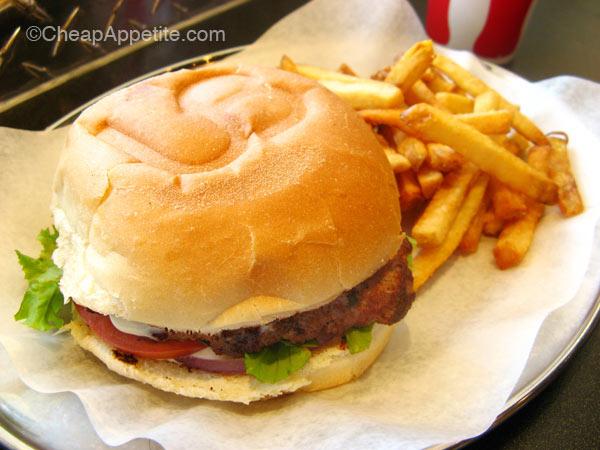 Urban Burger's Urban Combo