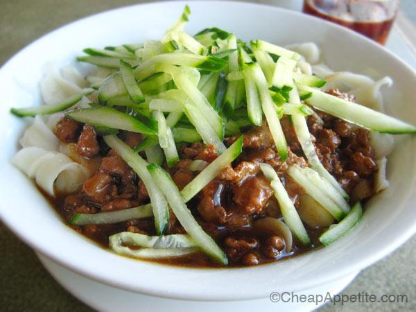 Zha Jiang Mian at Sha-Lin Noodle House