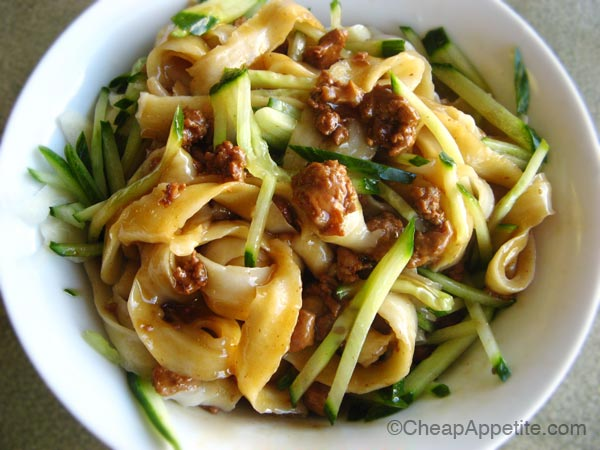 Zhan Jiang noodles at Sha-lin Noodle House