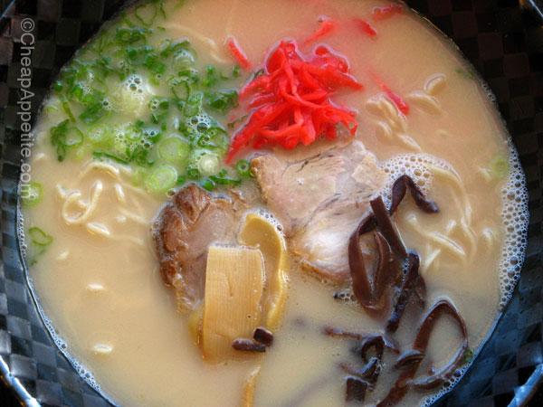 Nagahama Ramen at Menya Japanese Noodle