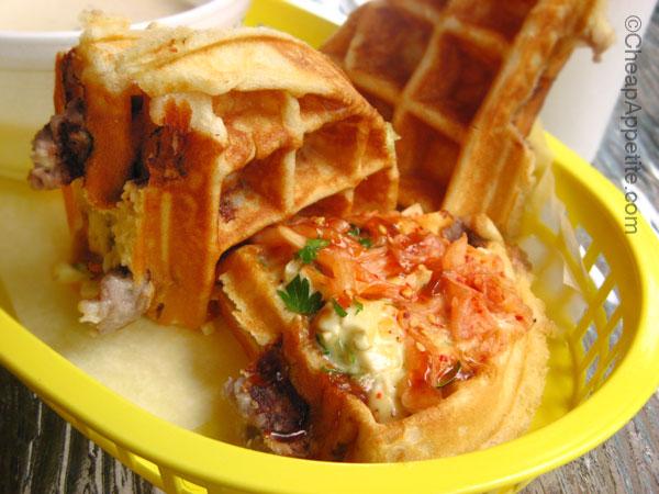 Miura Bulgogi Waffle Sando (sandwich)