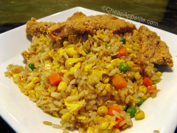 Taiwanese Fried Chicken Fried Rice at Well Tea