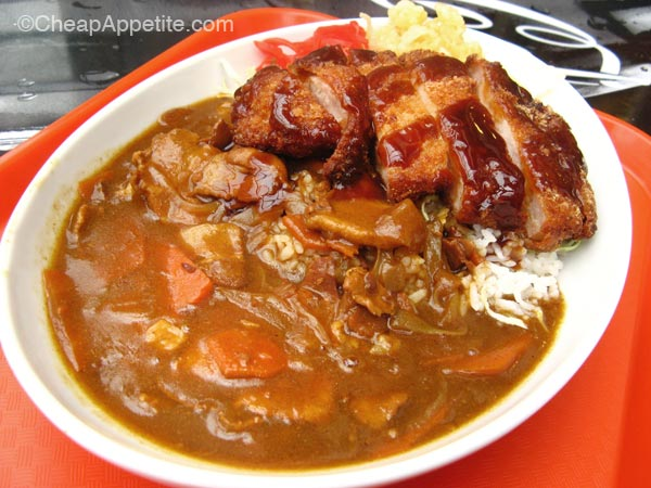 Tonkatsu and Curry at Ebi Ten, Robson Street
