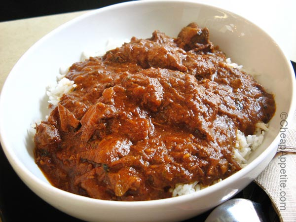 Rasoee (Ra-So-EE) Beef Curry on Robson Street