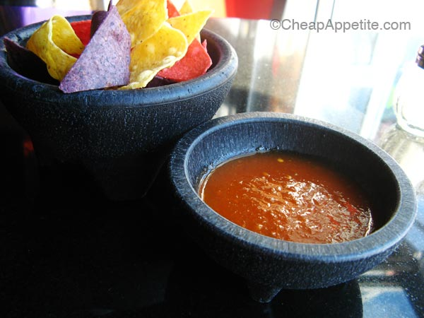 Free Salsa and Tortilla Chips at Salsa Agave in Yaletown