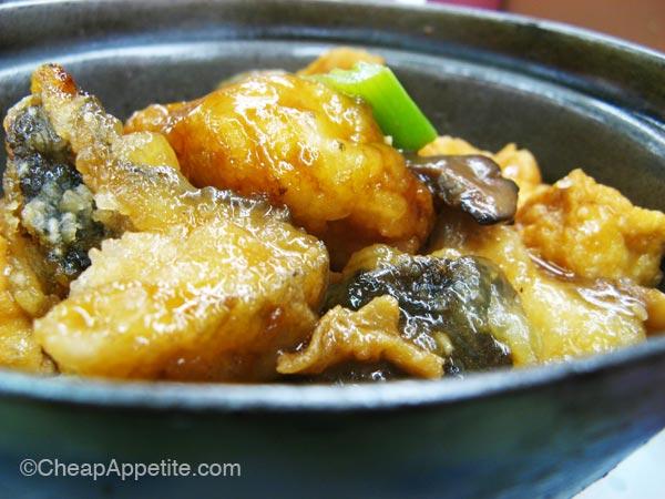 Braised Cod and Tofu Hot Pot at Gain Wah Restaurant