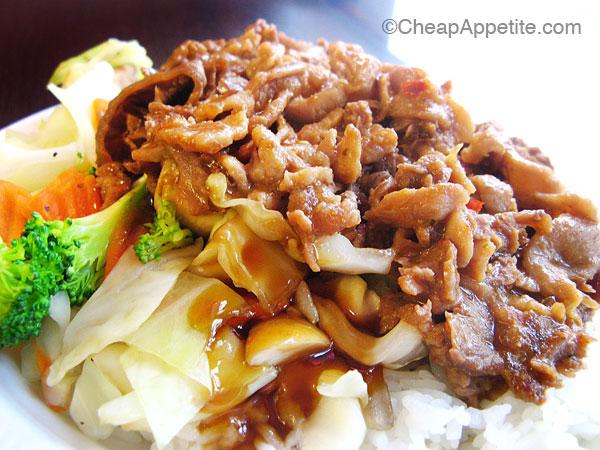 Super Chef Grill Teppanyaki Chicken and Beef on Robson Street