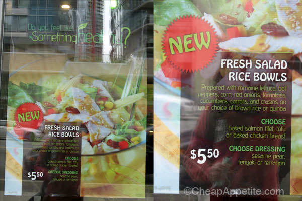 "Something Healthy's ""Fresh Salad Rice Bowls"" Poster"