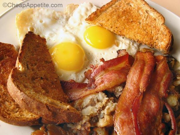 Vancouver Breakfast Special under $5