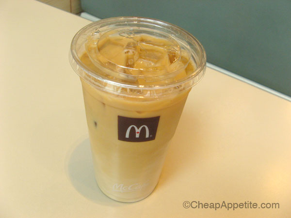 iced coffee mcdonalds