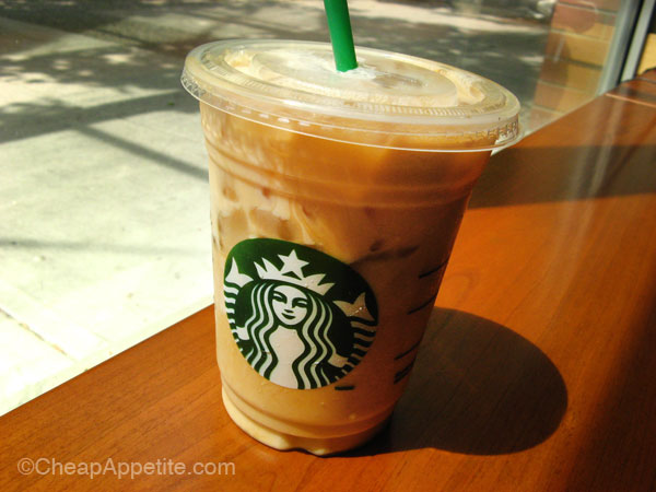 milk iced coffee