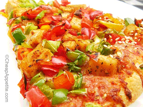 Uncle Fatih's Spicy Chicken Pizza